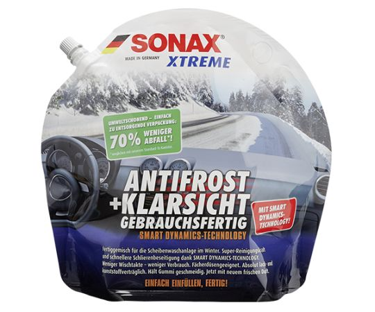 Зимняя жидкость омывателя -20 SONAX Xtreme (Германия) 3 л