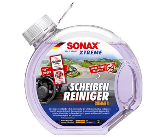 Летний жидкость омывателя концентрат 1:4 SONAX (Германия) 3 л