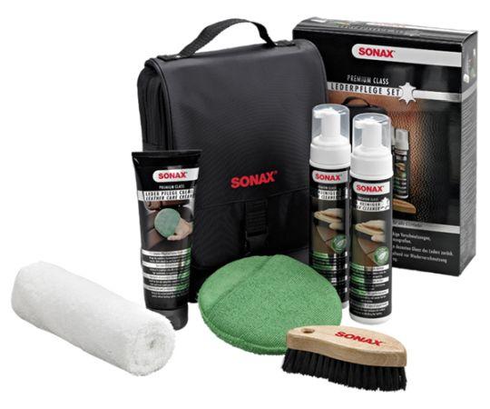 Набор по уходу за кожей SONAX Premium Class (Германия)