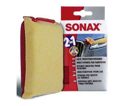 Губка для очистки поверхности от насекомых SONAX