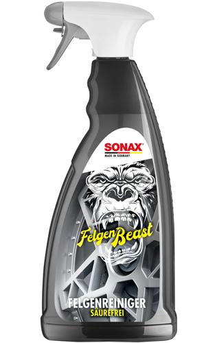 Очиститель колесных дисков Сонакс Зверь SONAX Felgen Beast (Германия) 1 л