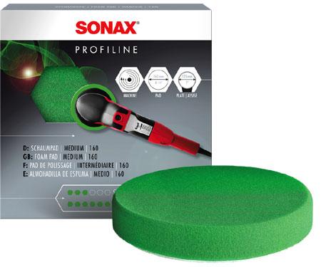 Полировочный круг оранжевый SONAX (Германия) 160 мм