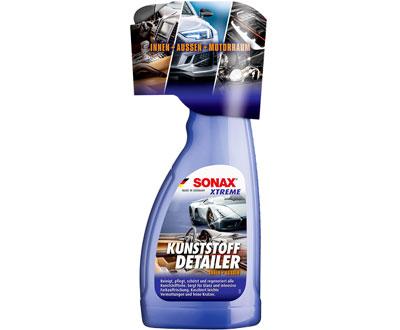 Универсальный очиститель и восстановитель пластика интерьера и экстерьера SONAX Xtreme Kunststoff Detailer 500 мл.