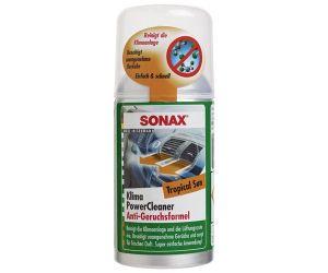 Очиститель кондиционера антибактериальный (тропический бриз) SONAX Clima Clean Tropical Sun (Германия) 100 мл