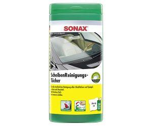 Влажные салфетки для стекол SONAX Scheiben Reinig (Германия) 25 шт